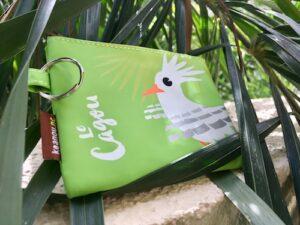 New Caledonia Souvenirs - Keanou Cagou Money Purse