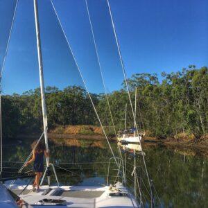 Sailing Moreton Bay - Cabbage Tree Creek