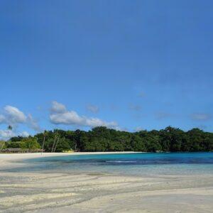 Espiritu Santo Champagne Beach Best beach in Vanuatu South Pacific