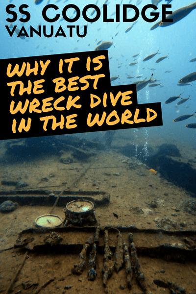 Espiritu Santo Vanuatu SS President Coolidge Wreck Dive