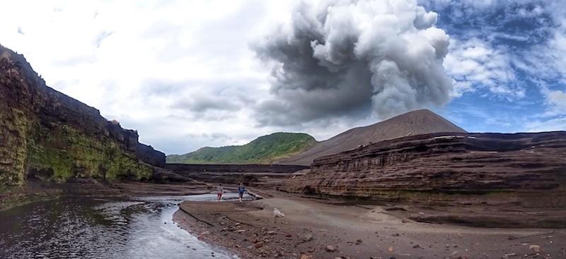 Mount Yasur hike Tanna Volcano Ash Plain