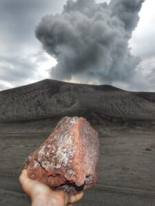 Mt Yasur Tanna volcano eruption rock lava