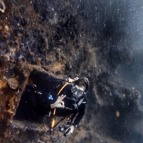 SS Coolidge Dive 2 Narrow Passages