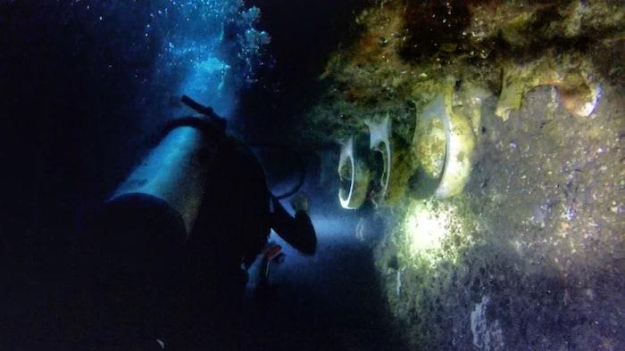 SS Coolidge Dive 2 Toilets