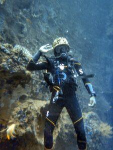 Vanuatu SS Coolidge Dive Helmet