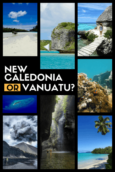 vanuatu vs new caledonia south pacific islands