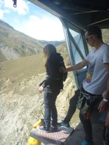 Bungy Jumping New Zealand - Eloise