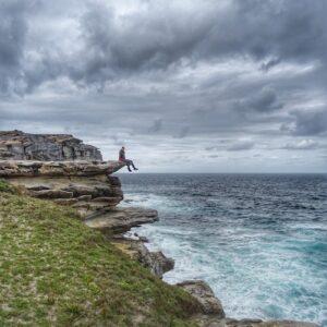 Cliff Royal National Park Eloise