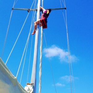 Fear of Heights Up the Mast Sailing