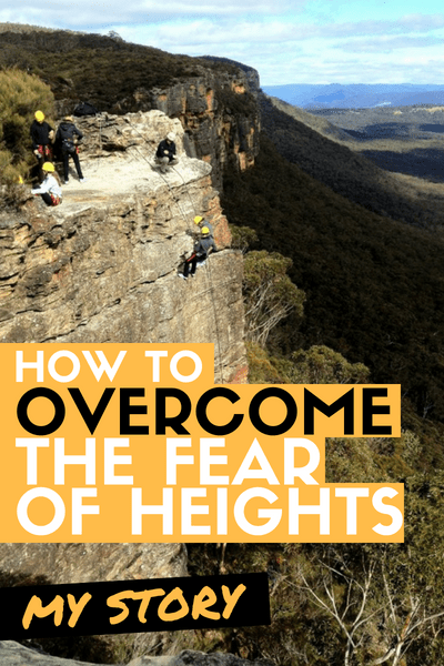 How to overcome the fear of heights