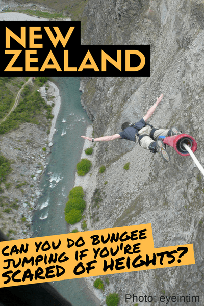 Nevis Bungee Jump Queenstown New Zealand - Jump