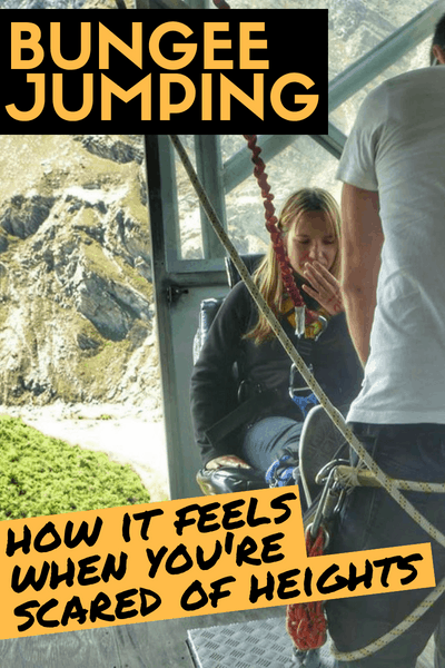 Nevis Bungee Jump Queenstown New Zealand - Scared of heights