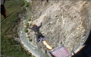 Overcoming Fear Of Heights - bungy jumping new zealand