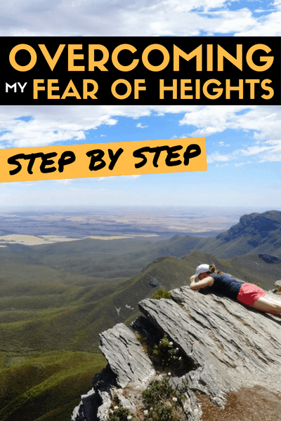 Overcoming my fear of heights step by step