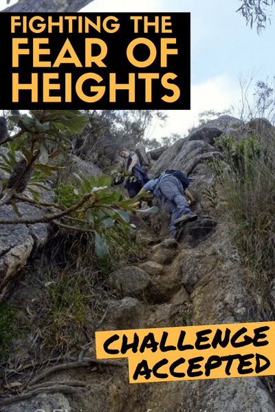 fighting the fear of heights - challenge accepted