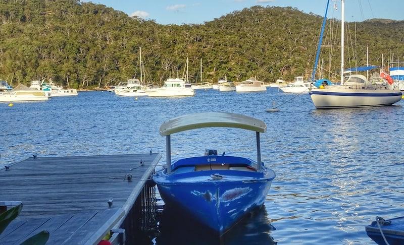 boat hire ku ring gai chase national park