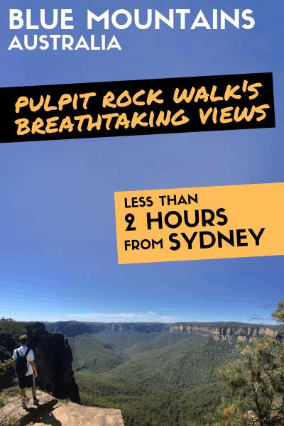 Blackheath Australia Blue Mountains Pulpit Rock