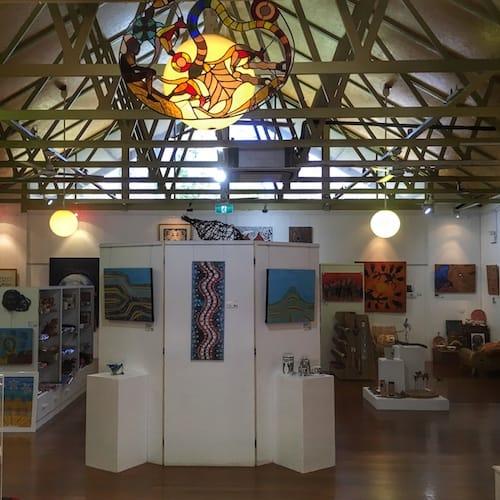 Yarrawarra Aboriginal Cultural Centre Wadjar Gallery