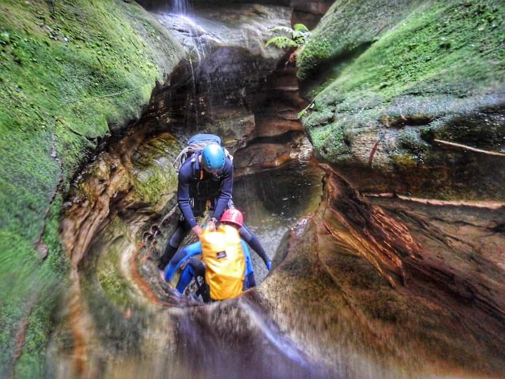 Canyoning in the Blue Mountains - Yileen